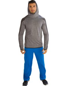 Buy Patched Hooded Sweatshirt for Men From Gym Clothes Store in USA & Canada