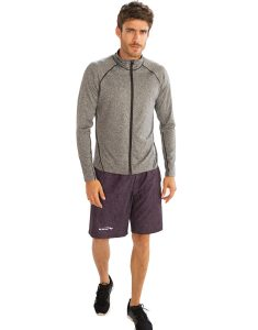 Buy Plain Grey Jackets for Men From Gym Clothes Store in USA & Canada