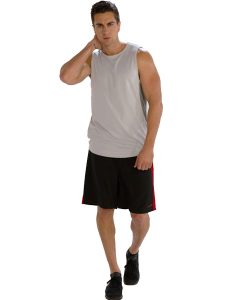 Buy Comfy Greyish White Tank Tees for Men From Gym Clothes Store in USA & Canada