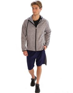 Buy Plain Hooded Jacket for Men From Gym Clothes Store in USA & Canada