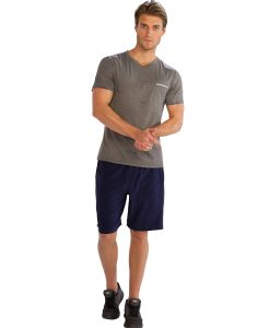 Buy Comfy Half Sleeve V-Neck Tees for Men From Gym Clothes Store in USA & Canada