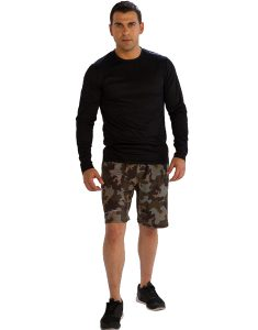 Buy Full Sleeve Black Tees for Men From Gym Clothes Store in USA & Canada