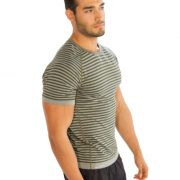 half sleeve shirts men for gym
