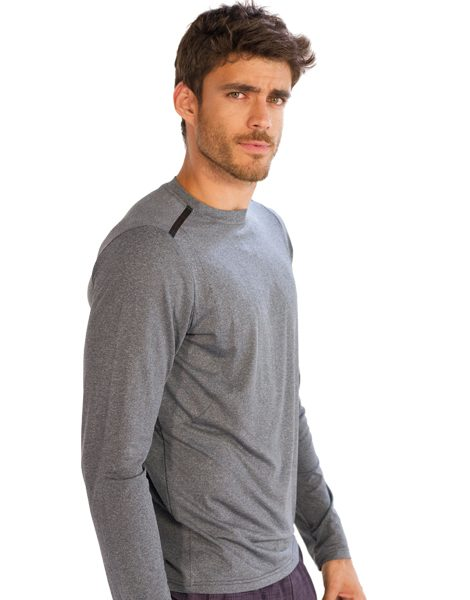 84b4e178845 Wholesale Grey Full Sleeve Tees for Men From Gym Clothes