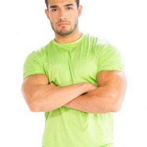 mens short shirts for gym