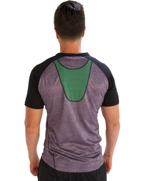 Buy tri colored half sleeve mens t shirt from usa online store for Half sleeve t shirts for men