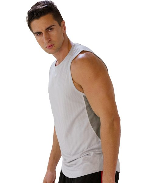 ... mens gym tops ...  sc 1 st  Gym Clothes & Wholesale Comfy Greyish White Tank Tees for Men From Gym Clothes