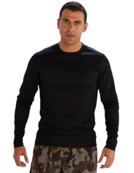 Full Sleeve Black Tees for Men