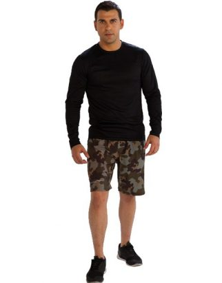Camo Print Fitness Shorts Manufacturer