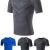 Short Sleeve Compression Sportswear Manufacturer USA