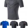 Short Sleeve Compression Sportswear Manufacturer USA