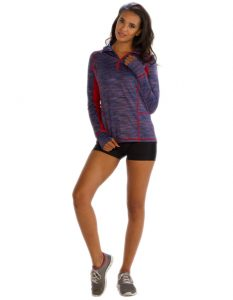 Buy Blue And Red Womens Sweatshirt From Gym Clothes Store in USA & Canada