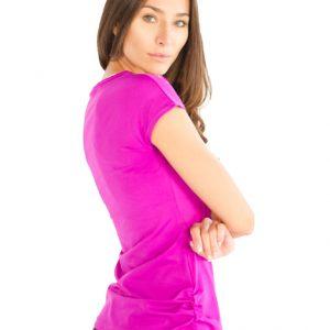 womens slim fit gym shirts