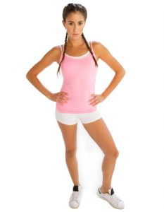 Buy Comfy Baby Pink Camisole From Gym Clothes Store in USA & Canada