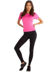 Buy Comfy Black Fitness Leggings for Women From Gym Clothes Store in USA & Canada