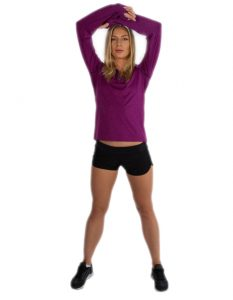 Buy Comfy Purple Sweatshirt for Women From Gym Clothes Store in USA & Canada