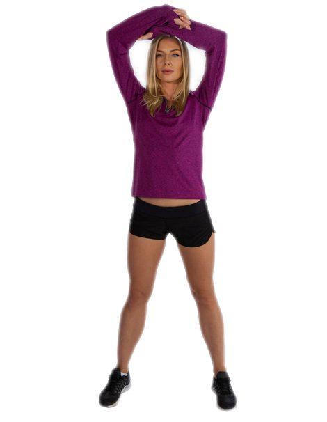 long sleeve gym t shirt womens