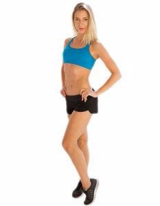 Buy Dark Slate Grey Shorts for Women From Gym Clothes Store in USA & Canada