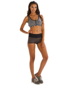 Buy Duo Tone Grayish Shorts From Gym Clothes Store in USA & Canada