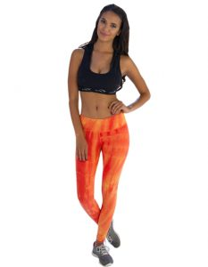 Buy Flame Patterned Printed Fitness Leggings From Gym Clothes Store in USA & Canada