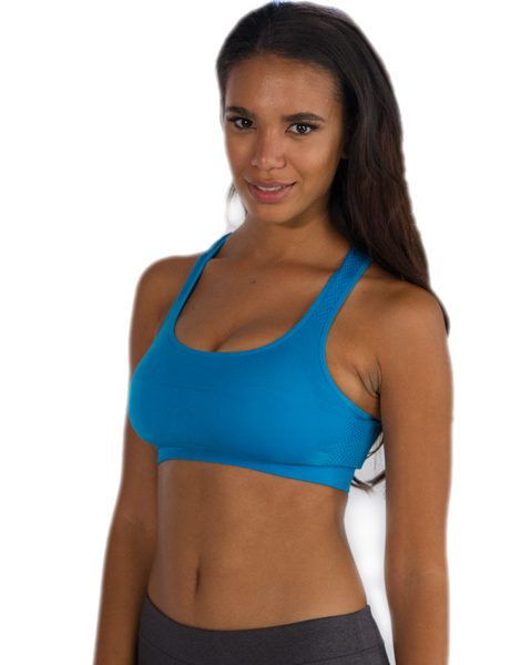 76b5fc4569 Wholesale Funky Aqua Blue Sports Bra From Gym Clothes