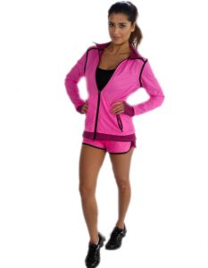 Buy Funky Pink Jacket for Women From Gym Clothes Store in USA & Canada