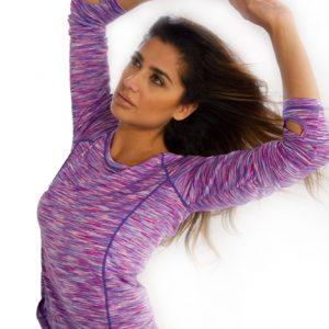 ladies long sleeve gym t shirt