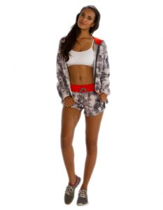 Buy Patterned Shorts for Women From Gym Clothes Store in USA & Canada
