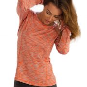 long sleeve gym t shirts women