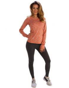 Buy Plain Dark Grey Leggings From Gym Clothes Store in USA & Canada