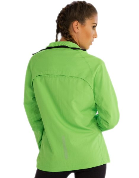 Wholesale Vibrant Green Jacket For Women From Gym Clothes