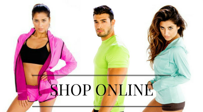 gym clothes shop