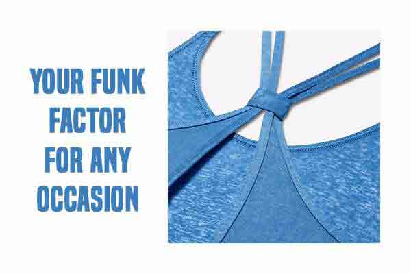The Aqua Blue Camisole will be Your Funk Factor for Any Occasion
