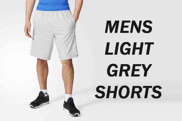 A Pair of Light Grey Shorts Can Add Versatility to Your Closet with Panache
