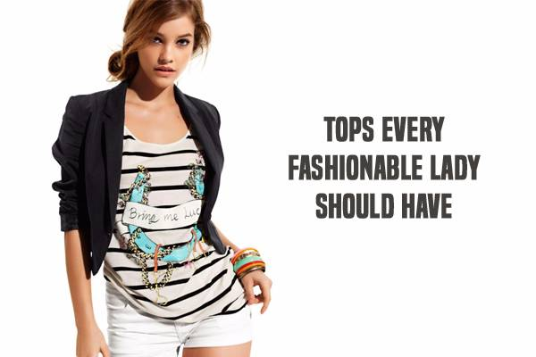 Four Best Short Sleeve Tops Every Fashionable Lady Should Have!