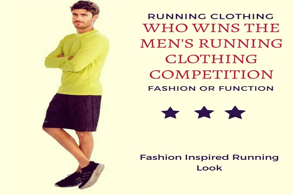Who Wins the Men's Gym Clothing Competition: Fashion or Function?