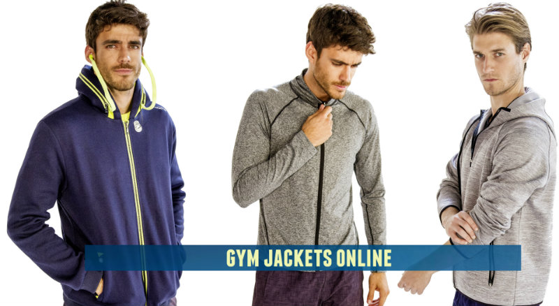 Men's gym jackets and outerwear