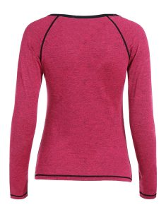 Buy Heather Skinny Pullover Gym T-Shirt From Gym Clothes Store in USA & Canada