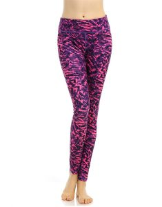 Buy Abstract Print Stretchy Breathable Leggings From Gym Clothes Store in USA & Canada