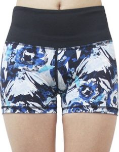 Active High Waist Printed Dry Quickly Shorts Online