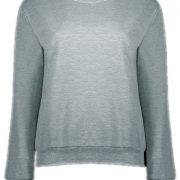 Active Letter Print Sweatshirt