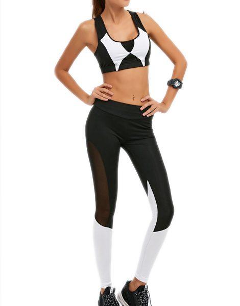 color-block-mesh-insert-gym-suit-usa