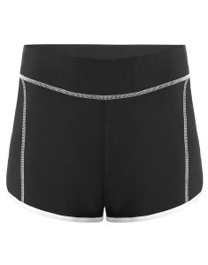 Buy Color Block Mini Gym Shorts From Gym Clothes Store in USA & Canada