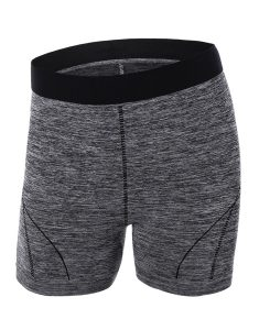 Buy Color Block Sporty Yoga Shorts From Gym Clothes Store in USA & Canada