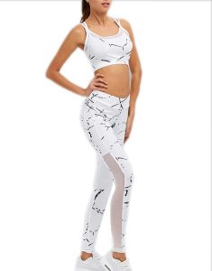 Buy Paint Splatter Mesh Insert Gym Suit From Gym Clothes Store in USA & Canada