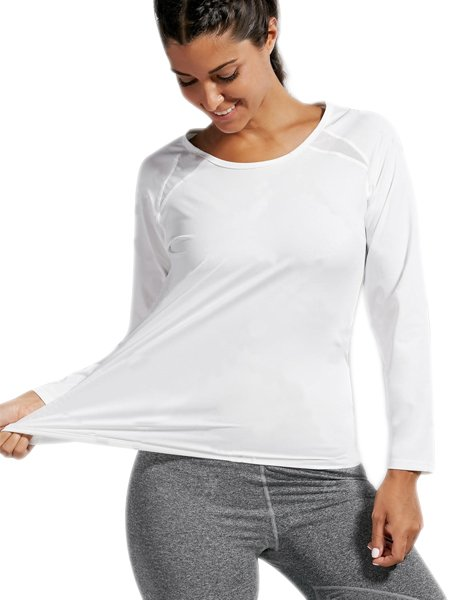 Quick-dry Open Back Sports T-shirt
