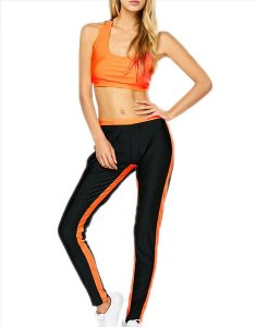 Buy Racerback U Neck Bra With Sports Pants From Gym Clothes Store in USA & Canada