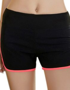 Buy Simple Super Elastic Multicolor Skinny Sport Shorts For Women From Gym Clothes Store in USA & Canada