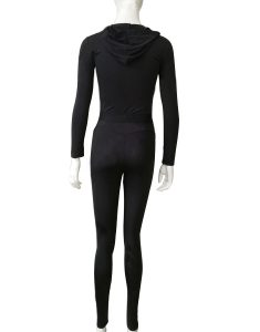 Buy Skinny Hooded Gym Jumpsuit From Gym Clothes Store in USA & Canada