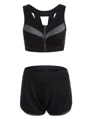 zipper-design-sporty-bra-and-gym-shorts-usa